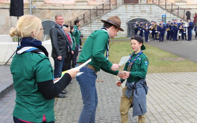 Открытие скаутского весенне-летнего сезона в Нарве.