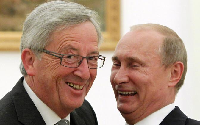 Juncker ja Putin 2012. aastal.