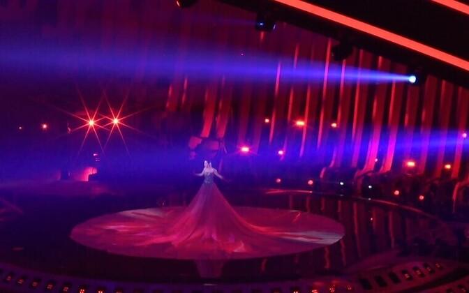 Первая репетиция Элины Нечаевой на сцене Евровидения.