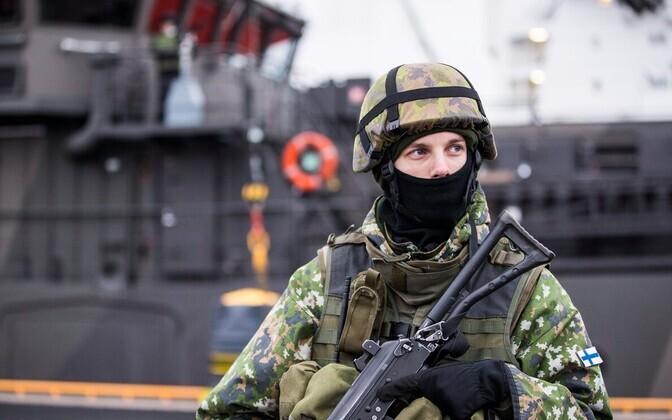 Soome kaitseväelane.