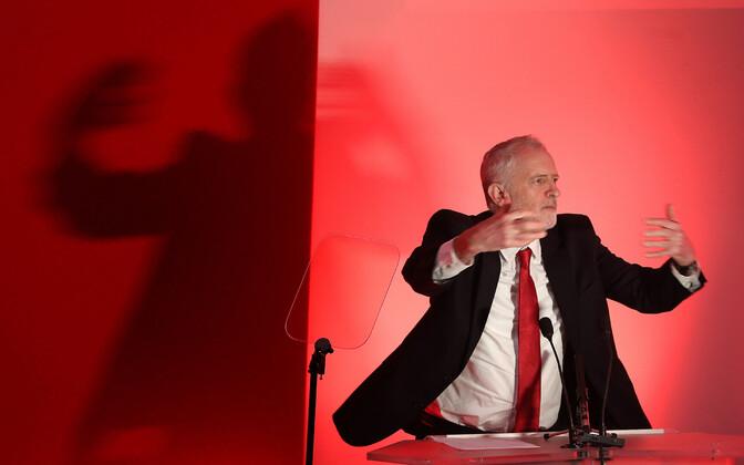 Leiboristliku Partei juht Jeremy Corbyn.