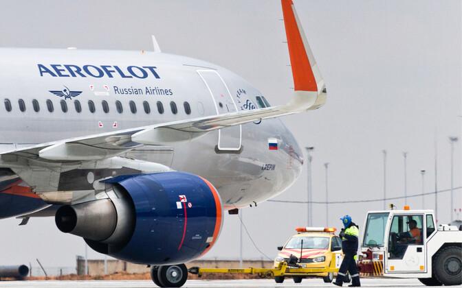 Aerofloti reisilennuk.