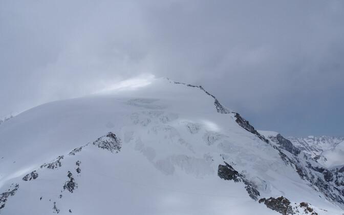 Pigne d'Arolla mäetipp Šveitsi Alpides.