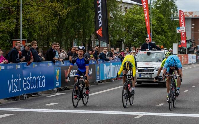 2017. aasta Tallinn-Tartu GP finiš, millest väljus võitjana Karl Patrick Lauk