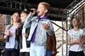 На концерте среди прочих детей выступил и участник музыкального шоу BRAVO! на ETV+, житель Силламяэ Владислав Одинцов.
