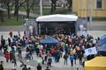 Ametiühingute pidu Tallinnas Vabaduse väljakul.
