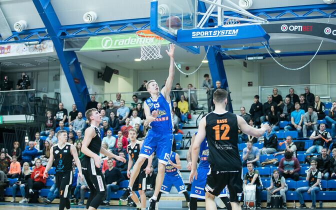 Korvpalli Eesti MV esimene poolfinaal BC Kalev/Cramo-Pärnu Sadam