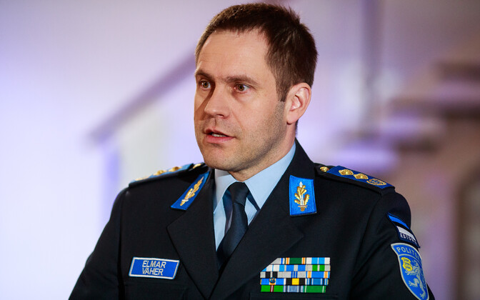 Police and Border Guard Board Director General Elmar Vaher.