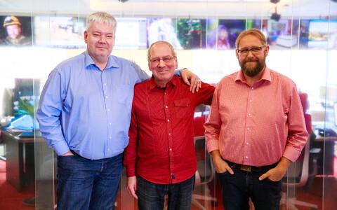 Toomas Sildam, Ainar Ruussaar ja Anvar Samost
