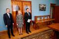 Ministrikandidaadid presidendi juures.