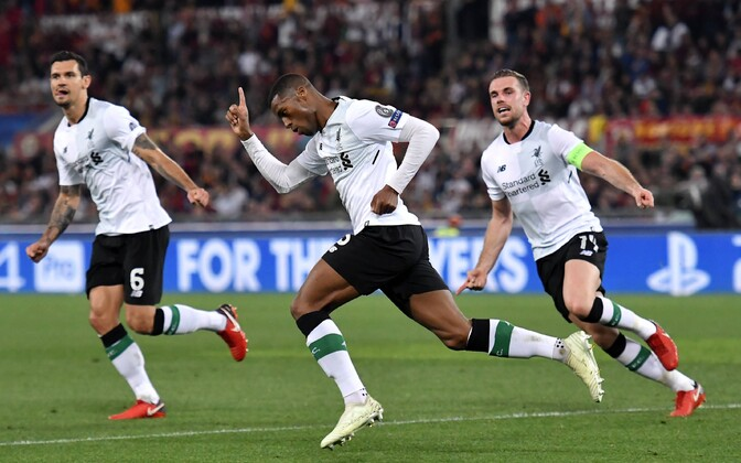 Georginio Wijnaldum (keskel) lõi Liverpooli teise värava
