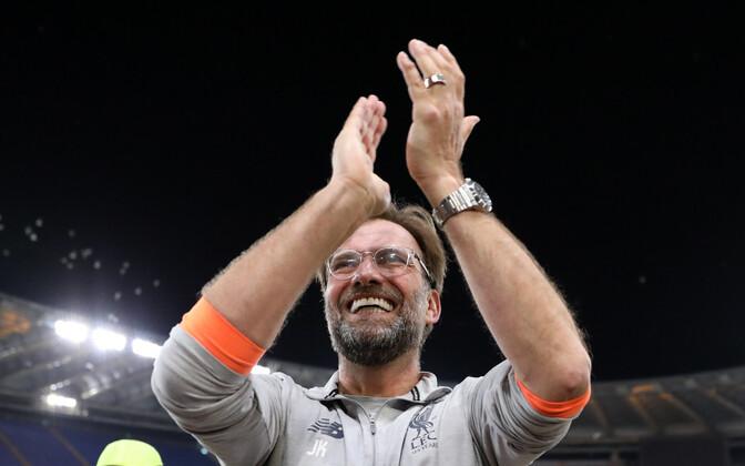 Jürgen Klopp Liverpooli fänne tänamas.