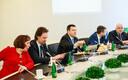 Valitsuse liikmed 3. mail istungil.