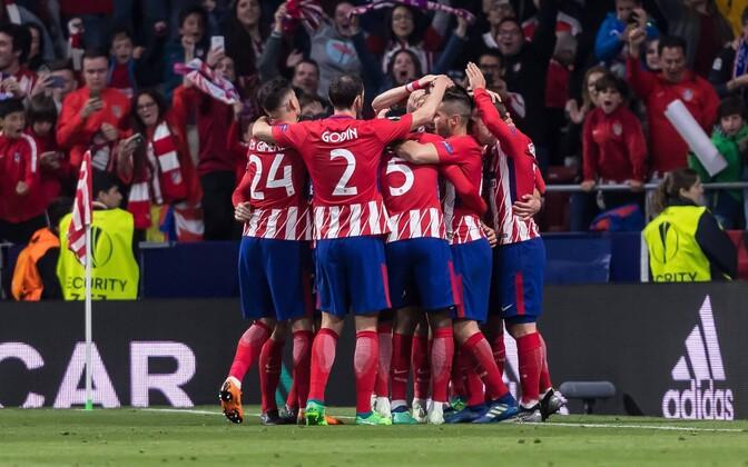 Madridi Atletico pääses Euroopa liiga finaali