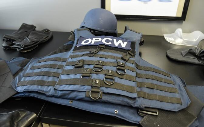 OPCW töötaja kuulivest organisatsiooni peakorteris Haagis