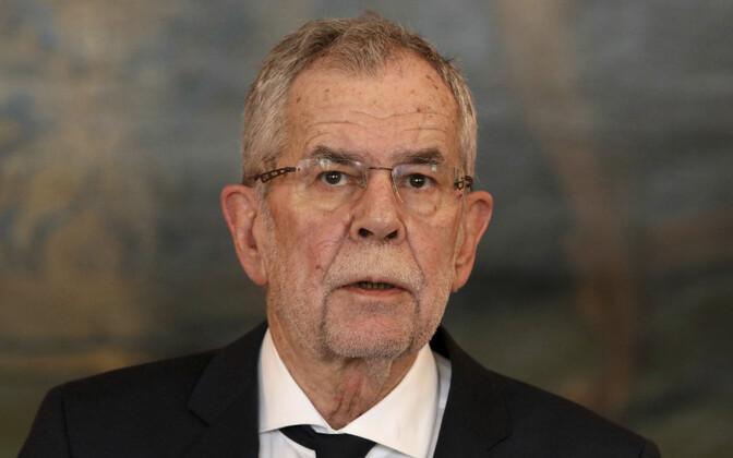 Austria president Alexander Van der Bellen.