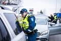 Полицейская проверка на дорогах.