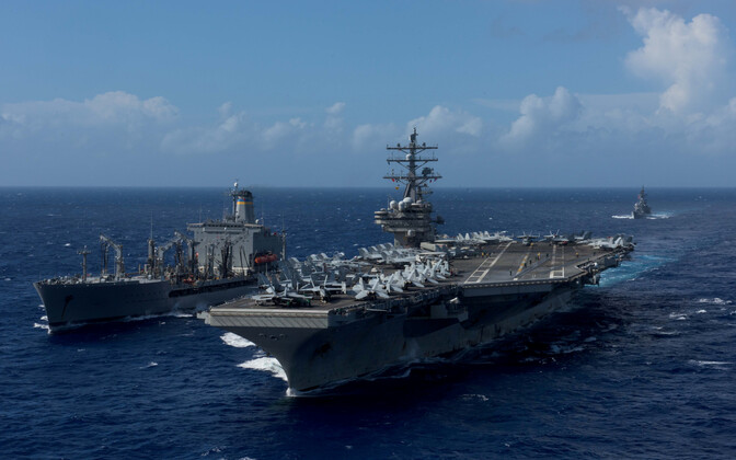USA mereväe laevad.