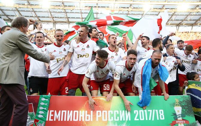 Venemaa jalgpallimeistriks tuli Moskva Lokomotiiv