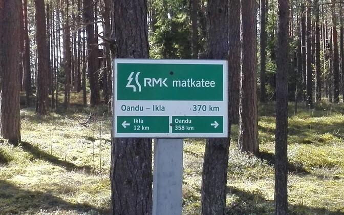 RMK hiking trail