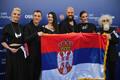 63. Eurovisiooni punane vaip, Serbia grupp Sanja Ilić & Balkanika