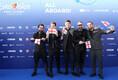 63. Eurovisiooni punane vaip, Georgiat esindav ansambel Iriao