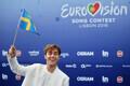 63. Eurovisiooni punane vaip, Rootsi laulja Benjamin Ingrosso