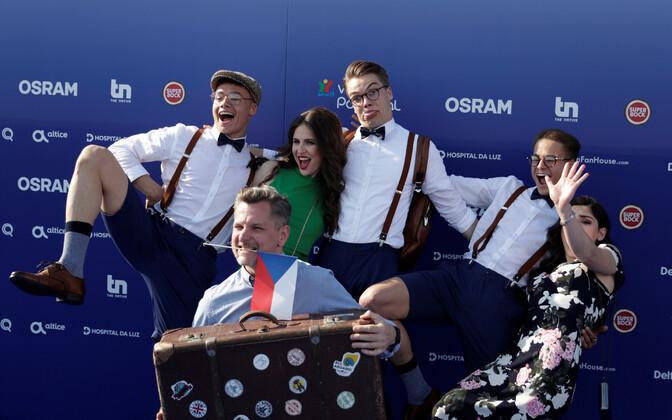 63. Eurovisiooni punane vaip, Tšehhi esindaja Mikolas Josef