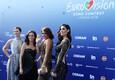 63. Eurovisiooni punane vaip, Eurovisiooni saatejuhid Silvia Alberto, Filomena Cautela, Catarina Furtado ja Daniela Ruah