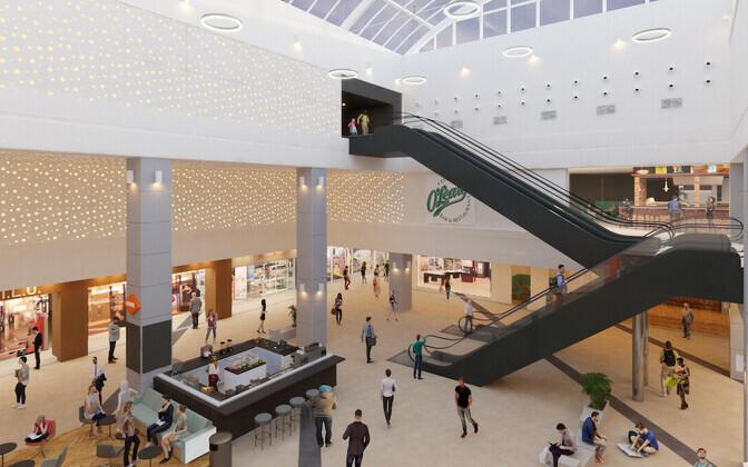 Обновленный торговый центр