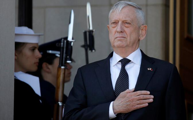 Глава Пентагона Джеймс Мэттис.