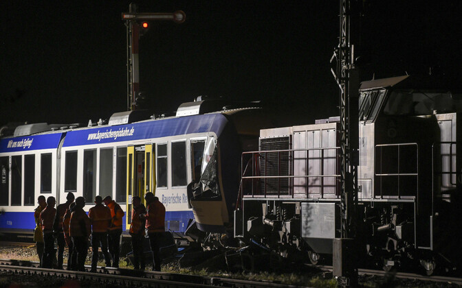 Rongiõnnetus Baieri liidumaal.