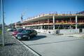 Строительство парковки перед Таллиннским аэропортом.