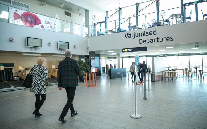 Passenger terminal at Tallinn Airport.