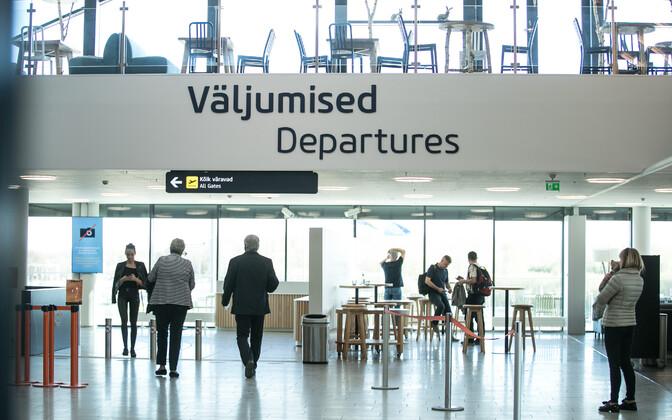 Eestisse tuleb elama rohkem inimesi kui siit lahkub. Tallinna Lennujaam