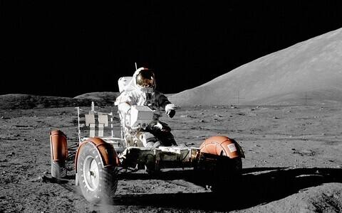 Kuul käinud astronaudid keerutasid üles hulga tolmu.