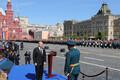 Владимир Путин на параде в честь 9 мая в Москве.