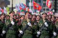 Парад на 9 мая в Южно-Сахалинске.
