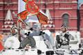 Парад на 9 мая в Москве.
