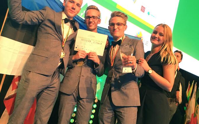 Euroopa parim õpilasfirma 2017 Festera
