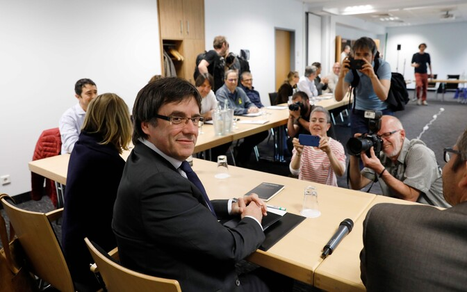 Carles Puigdemont 5. mail Berliinis.