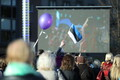 Празднование Дня Европы на площади Вабадузе.
