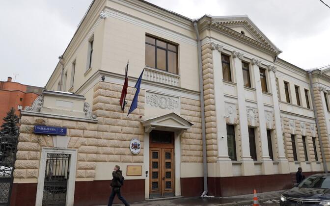 Посольство Латвии в Москве.