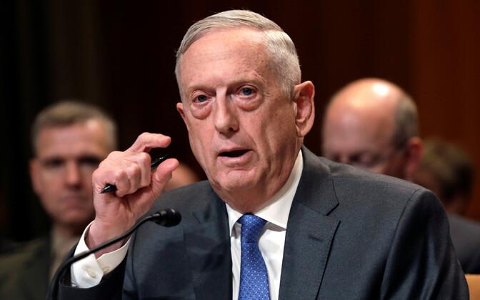 USA kaitseminister James Mattis senatis.