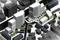 Детальная планировка предусматривает строительство девяти новых зданий.