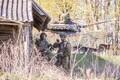 Foto 1. jalaväebrigaadi lahingust.