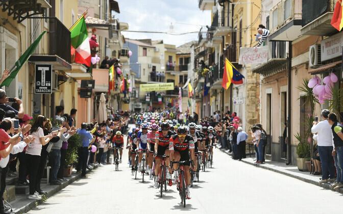 Ratturid Giro d'Italia kuuendal etapil