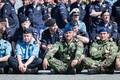Прибытие союзников в Минную гавань.
