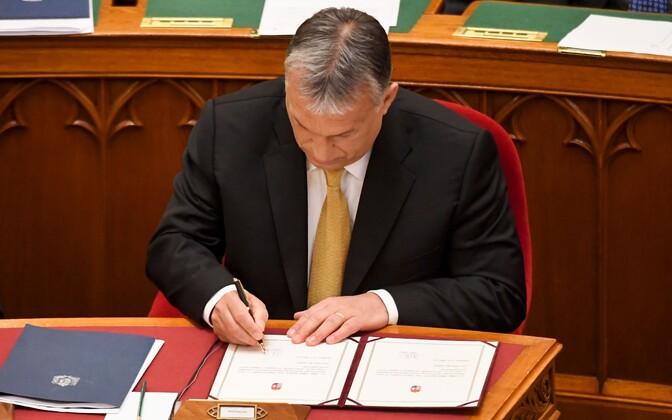 Viktor Orban vannutati Ungari peaministriks.