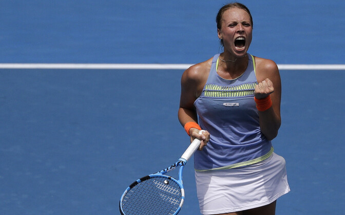 Anett Kontaveit is currently Estonia's top women's tennis player.